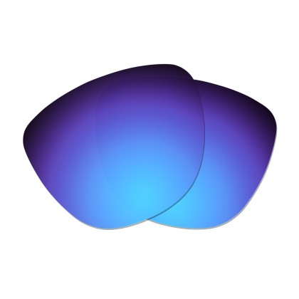 Polarized Replacement Lenses for Oakley Frogskins - Dark Blue
