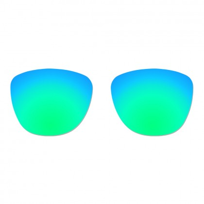 Polarized Replacement Lenses for Oakley Frogskins - Emarald Green