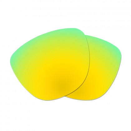 Polarized Replacement Lenses for Oakley Frogskins - Gold Green