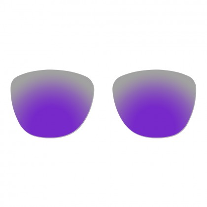 Polarized Replacement Lenses for Oakley Frogskins - Violet Purple