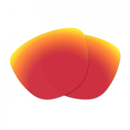 Polarized Replacement Lenses for Oakley Frogskins - Fire Red