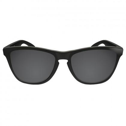 Polarized Replacement Lenses for Oakley Frogskins - Soild Black