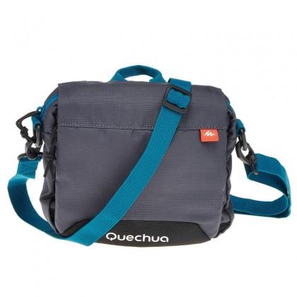 Quechua Travel Multi-Compartment Bag Pouch - Grey