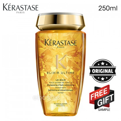 New Kerastase Shampoo Bain Elixir Ultime - 250ml