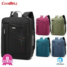 CoolBell 15.6 inch Backpack bag Simple style Shoulder Bag Luggage & Travel Bags