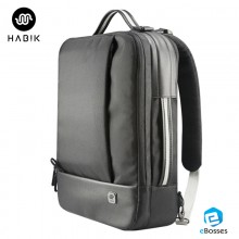 Habik Cross-Functional Laptop Computer Backpacks/Messager Bag for Macbook 15-inch