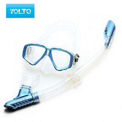 Snorkeling Sets With Anti-Fog Myopic Diving Mirror Breathing Tube