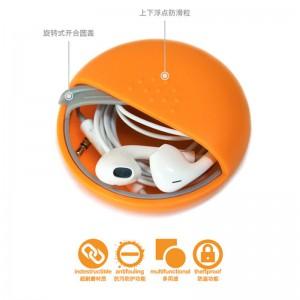 1 SET 4 Units of M Square Mini Portable Kit Storage Box for Coin Earphones Candy Multi-Purpose
