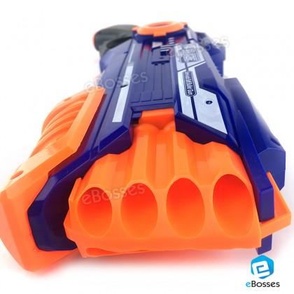 Blaze Storm Foam Bullet Blaster Hand Gun with 20 Darts Refill.
