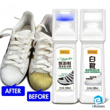 2-in-1 Easy Cleaning & Shoe Whitener Tool