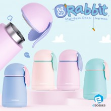 Cute Rabbit Stainless Steel Thermos Kids