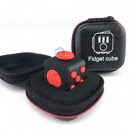 [READY STOCK] New Fidget Cube Stress Reliever Magic Cube + FREE POUCH