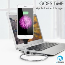 Super Durable Lightning USB Cable Metal Data and Sync Charging Cord for iPhone & Android Micro