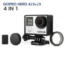 Protective Camera UV Lens Cover Case Protector For GoPro Hero 3 3 Plus 4 FPV