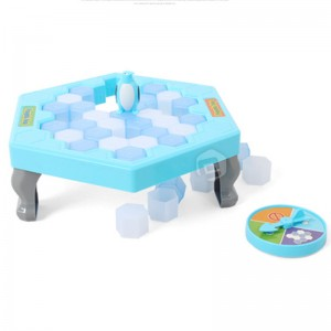 [READY STOCK] Penguin Trap Icebreaker Kid Puzzle Desktop Knock Ice Block Family Funny Toy Gift