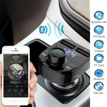 Korea Bluetooth Car Kit MP3 Player Bluetooth Speakerphone Dual USB Charger for Smartphone