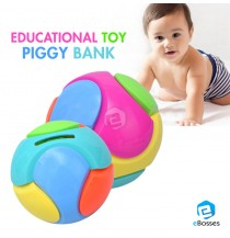 DIY Piggy Bank Children Educational Toy Plastic Bricks