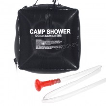 Heated Camp Shower Bag 40 Liters / 10 Gallon