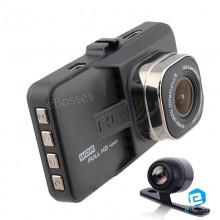 170° Full HD 1080p FH06 Dual lens Novatek Car DVR Camera Video Recorder Dash Cam & Rear View Camera