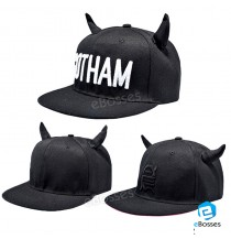 RUNNING MAN Embroidery HORN baseball Cap Unisex