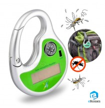 Portable Solar Powered Sonic Mosquito Repeller Pest Reject With Compass Mosquito Killer