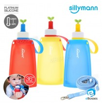 New Korean Silicone  Jumony Kids Bottle Sillymann