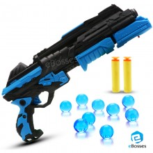 Water Crystal Gun 2-in-1 Paintball Gun Soft Bullet Gun Toy CS Game Toy