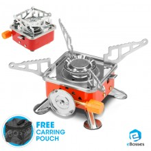 Outdoor Camping Mini Portable Butane Gas Stove New