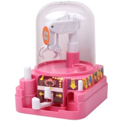 Candy Crane Electronic Claw Game Toy Grabber Machine Arcade Game