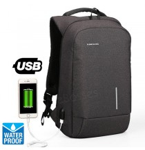 KINGSONS 13/15 Inch Laptop Backpack Waterproof Anti-theft Backpack with USB Port
