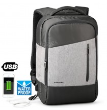 KINGSONS Men Women 15.6 inch Computer Bag Anti-theft Travel