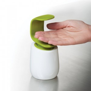 Joseph Joseph C-Pump Hygienic Single-Handed Soap Dispenser Bathroom Kitchen