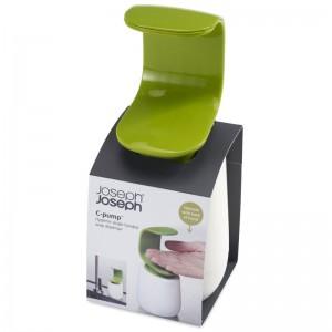 Joseph Joseph C-Pump Hygienic Single-Handed Soap Dispenser Bathroom Kitchen