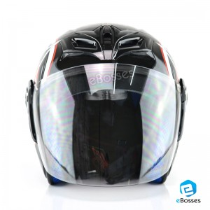 Space Crown Helmet Phoenix 5 STK with Adjustable Functional Air Vents Shield (STK05)