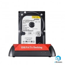 "Dual USB 3.0 SATA IDE HDD Dock OTB Hub Card Reader All in One Docking Station 2.5"" 3.5"""
