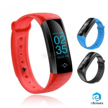 New M6 OLED Blood Pressure Oxygen Heart Rate Sport Health Monitor IP67 Watch Smart Bracelet