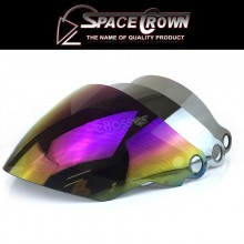 VISOR Space Crown Open Face Helmet Phoenix 5 STK