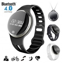 E07 Bluetooth 4.0 Smart Health Watch Sports Fitness Bracelet IP67 Waterproof For Android/IOS