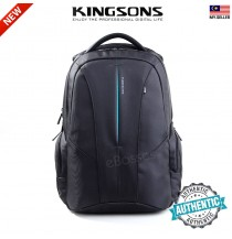 New Kingsons KS3047W 15.6 inch Laptop Backpack Water Resistant