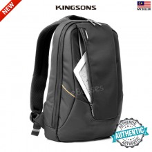KINGSONS KS3019 Men USB External Charging Anti Theft Laptop Backpack