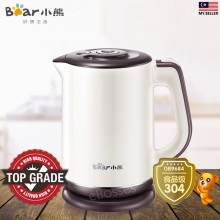 Bear 1.2L Stainless Steel Electric Kettle Double Insulation - ZDH-A12B1