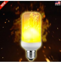 LED Flame Effect Light Bulb AC 90 - 265V