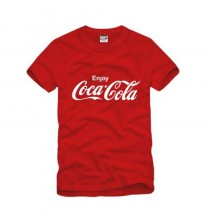Coca Cola Classic Coke Men Women Kid Red T-shirt