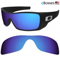 eBosses Polarized Replacement Lenses for Oakley Batwolf - Dark Blue
