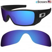 eBosses Polarized Replacement Lenses for Oakley Batwolf - Dark Blue