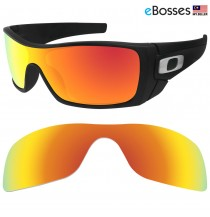 eBosses Polarized Replacement Lenses for Oakley Batwolf - Fire