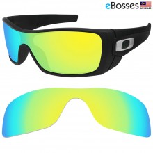 eBosses Polarized Replacement Lenses for Oakley Batwolf - Gold