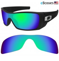 eBosses Polarized Replacement Lenses for Oakley Batwolf - Green