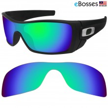 eBosses Polarized Replacement Lenses for Oakley Batwolf - Green