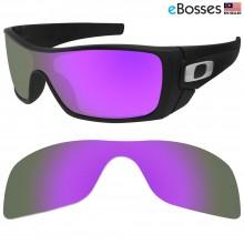 eBosses Polarized Replacement Lenses for Oakley Batwolf - Purple